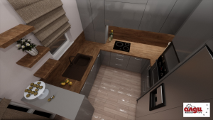 Сиви Отблясъци Кухня